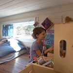 Kinderkamer in een tiny house
